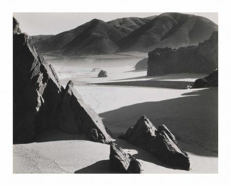 Brett Weston-Garrapata Beach-1954