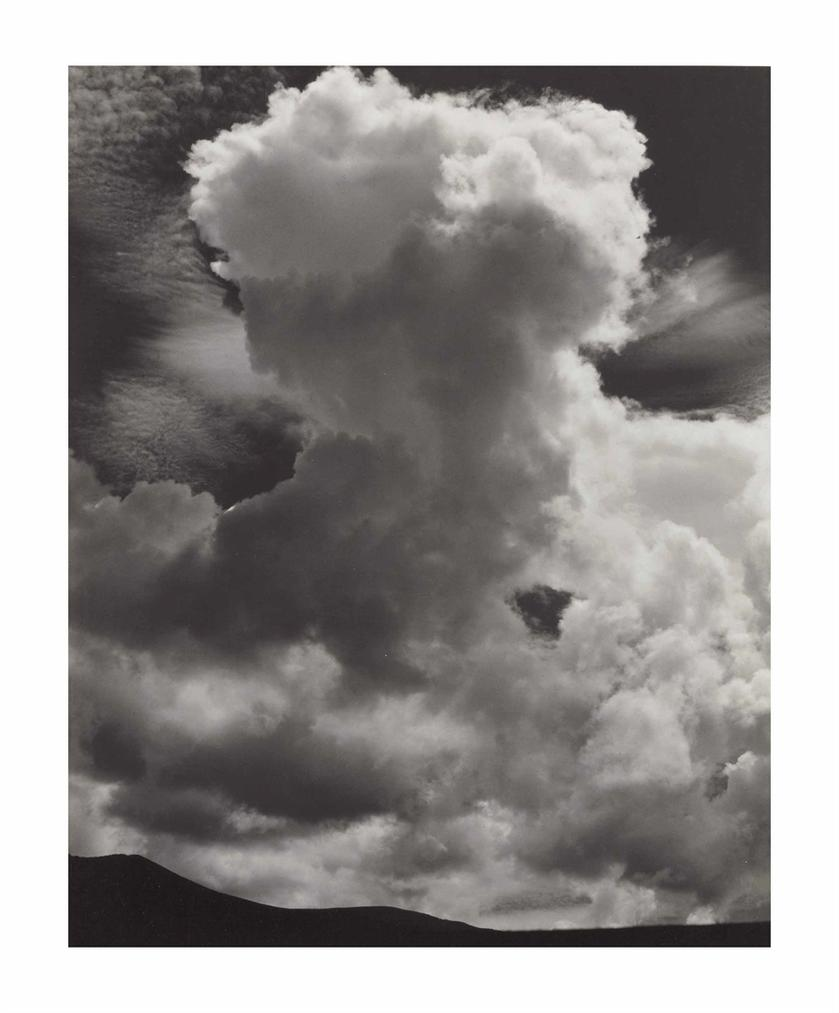 Edward Weston-Cloud, New Mexico-1933