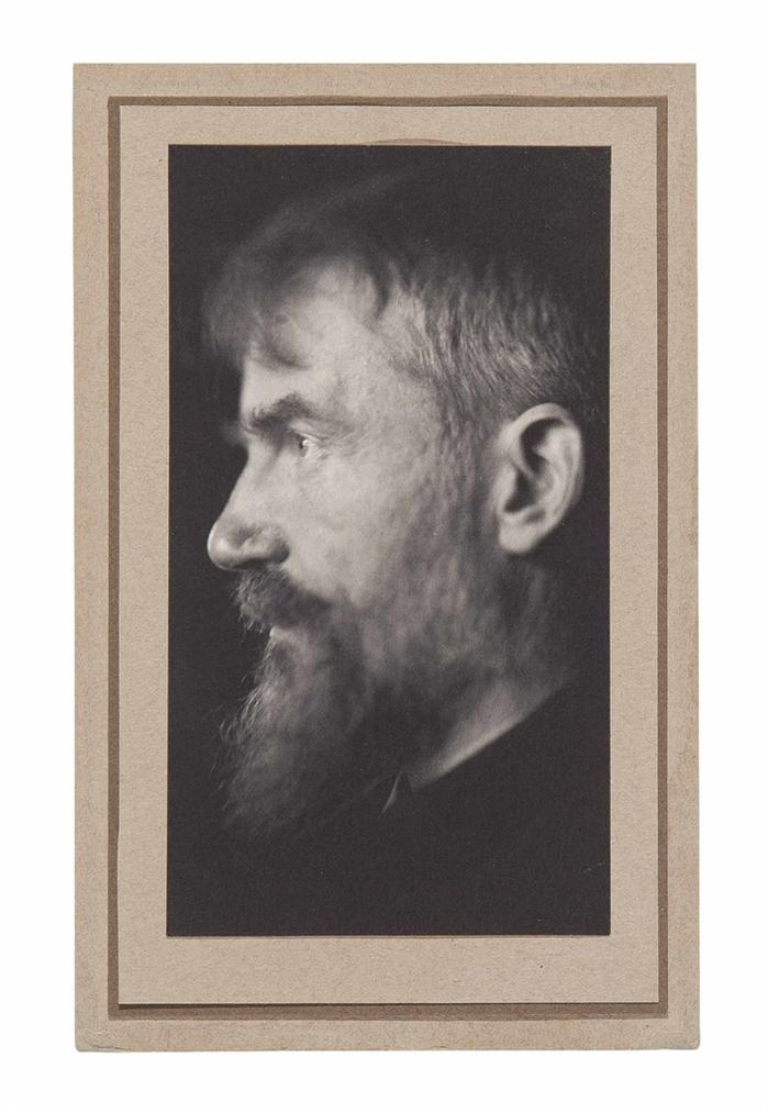George Bernard Shaw - A Self-Portrait-1904