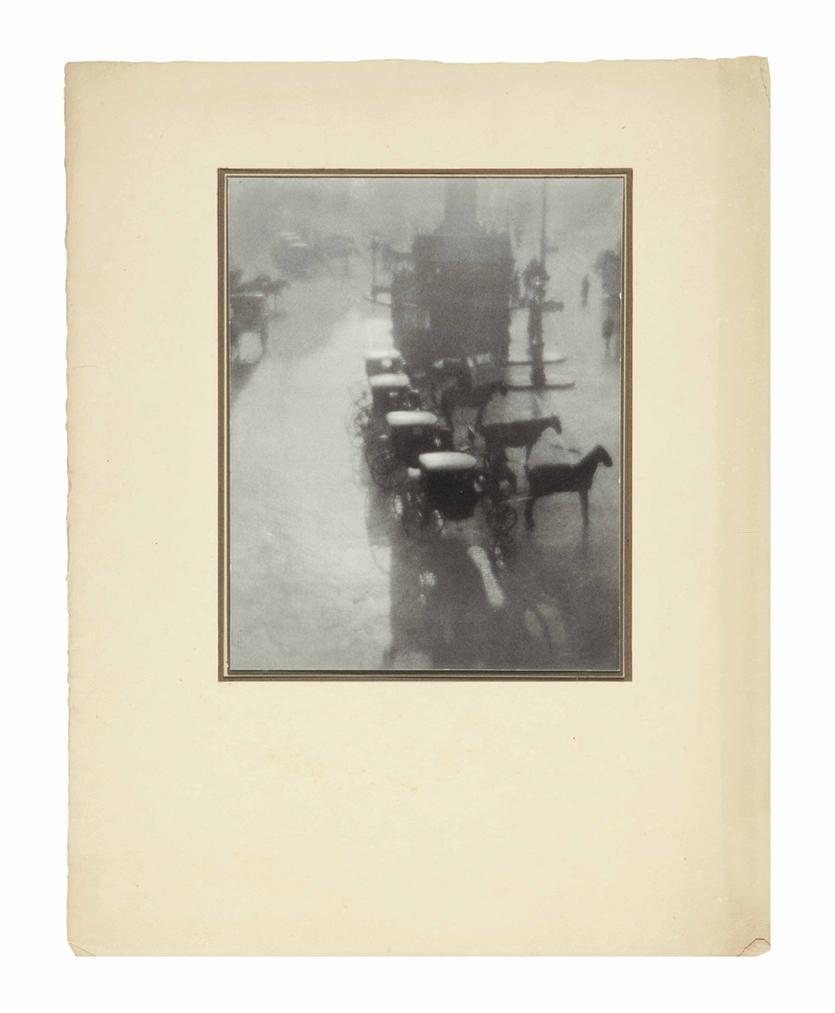 Pierre Dubreuil-Petite Place De Province-1908