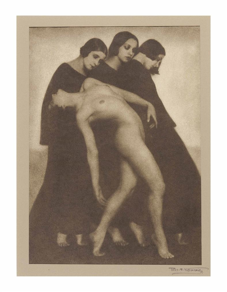 Rudolf Koppitz-Bewegungsstudie (Movement Study)-1925