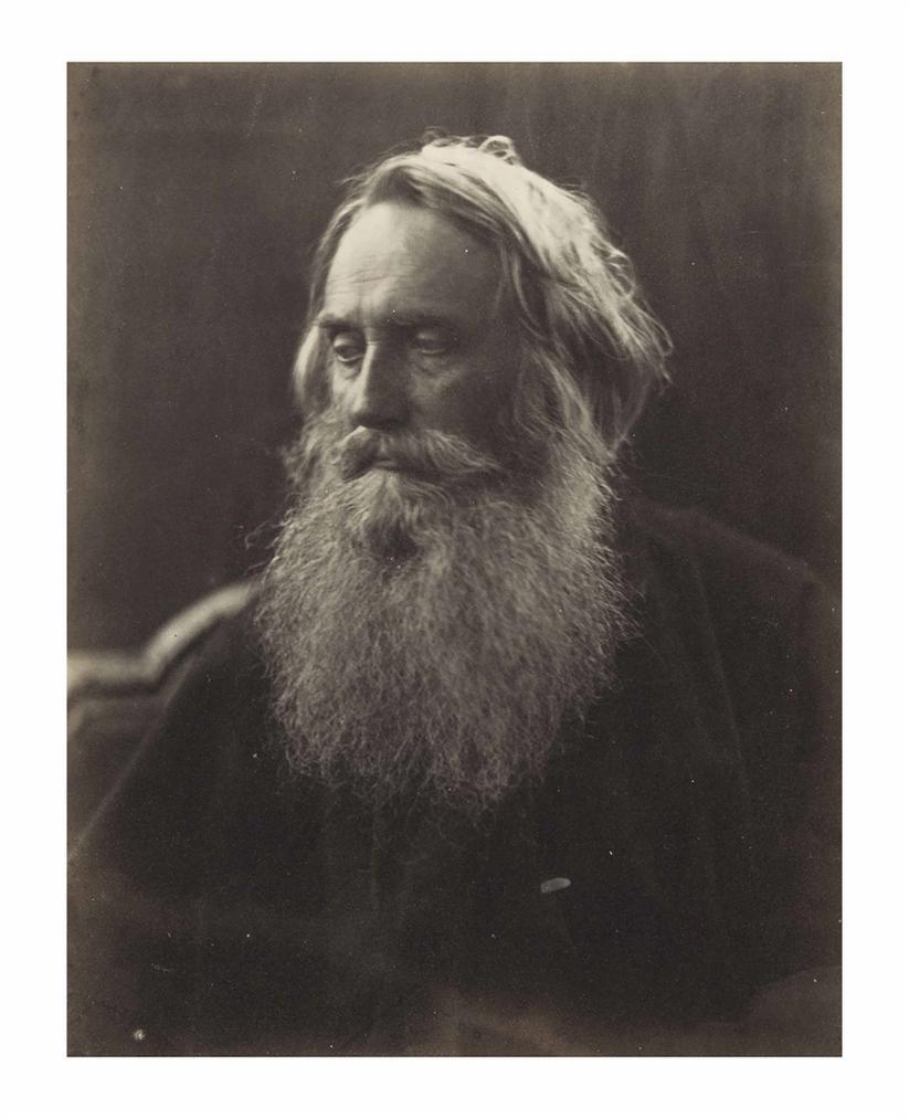 Julia Margaret Cameron-Sir Henry Taylor-1864