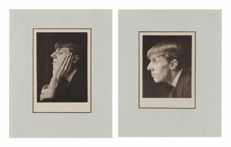 Frederick H. Evans-Double Portrait Of Aubrey Beardsley-1894