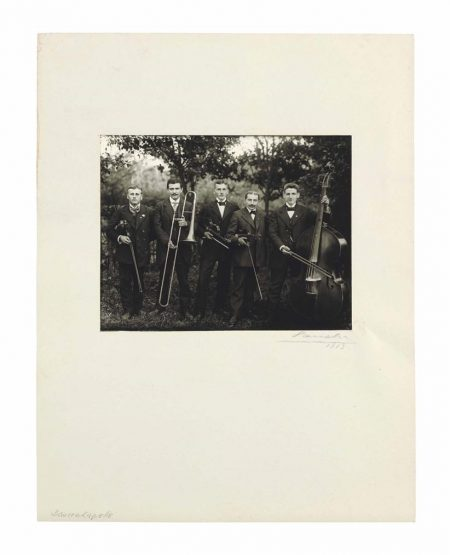 August Sander-Bauernkapelle (Country Band)-1913