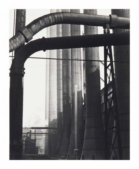 Edward Weston-Pipes And Stacks: Armco Steel, Middletown, Ohio 2M-1922