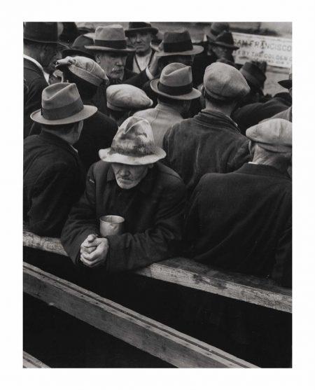 Dorothea Lange-White Angel Bread Line, San Francisco-1933