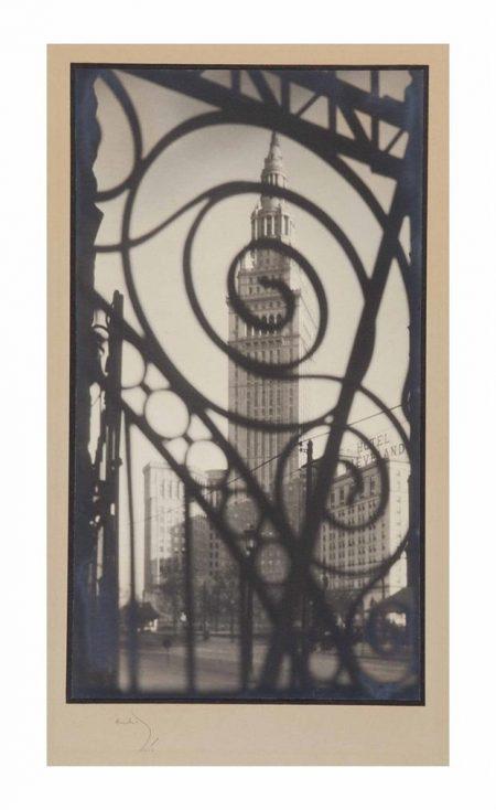 Margaret Bourke-White-Terminal Tower, Cleveland, Ohio-1928