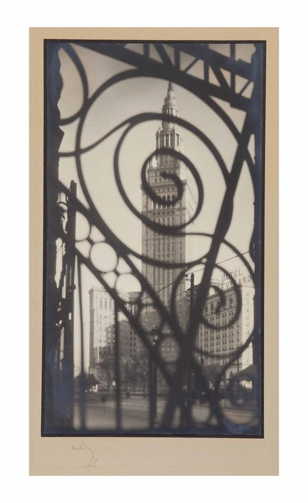 Margaret Bourke-White-Terminal Tower, Cleveland, Ohio-1928