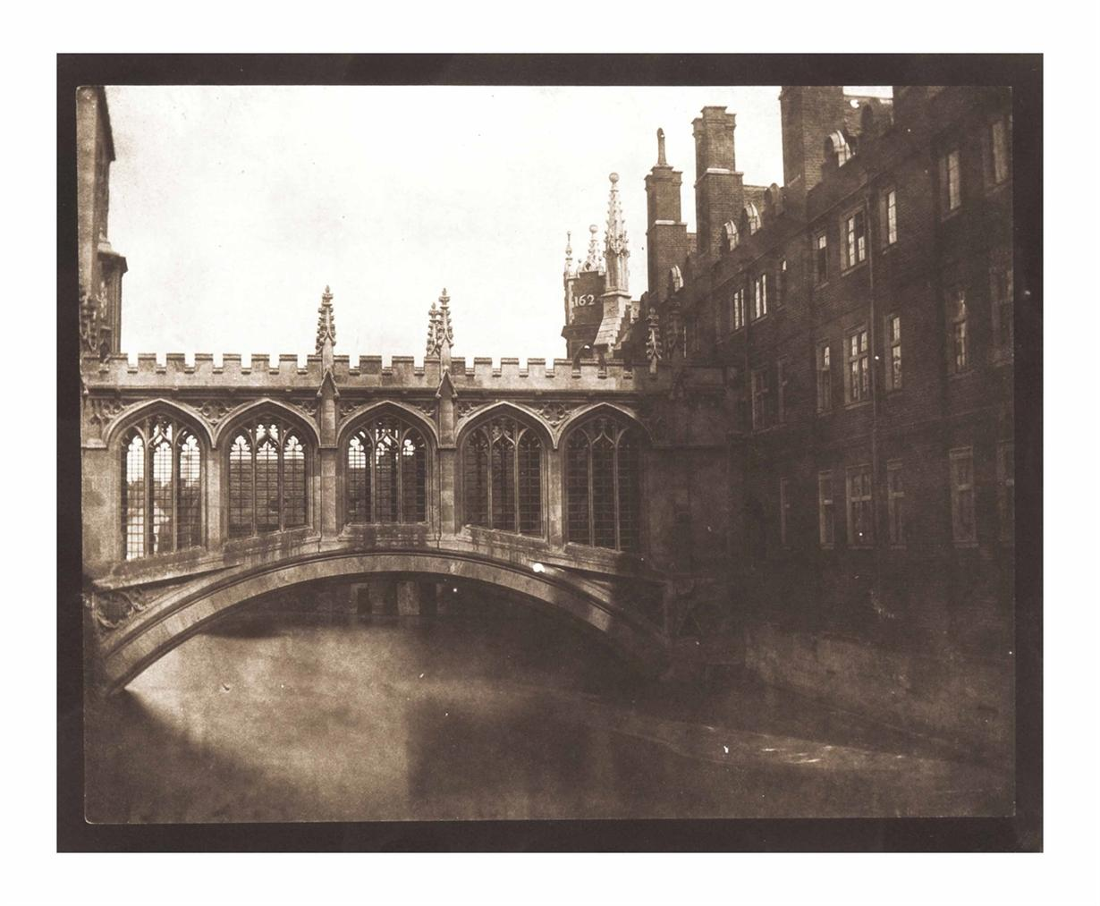 William Henry Fox Talbot-The Bridge Of Sighs, Saint John's College, Cambridge-1845