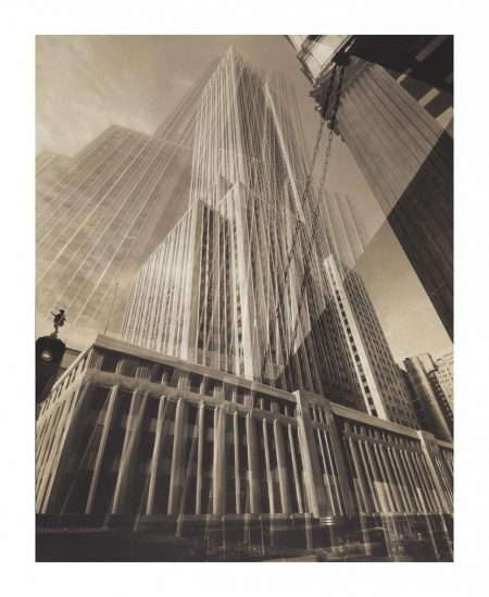 Edward Steichen-The May Pole (The Empire State Building)-1932