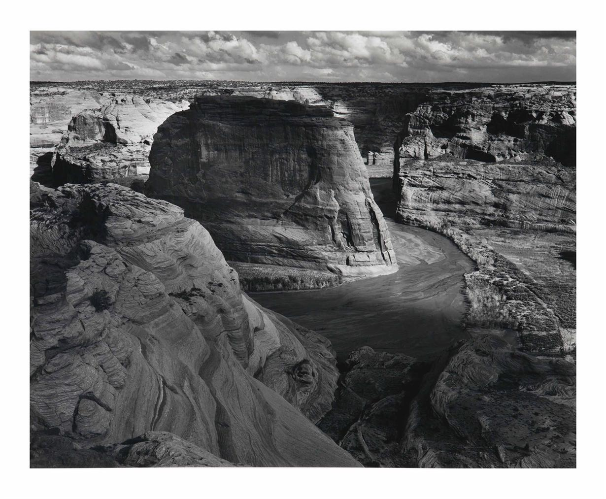 Ansel Adams-Canyon De Chelly From White House Overlook, Canyon De Chelly National Monument, Arizona-1942