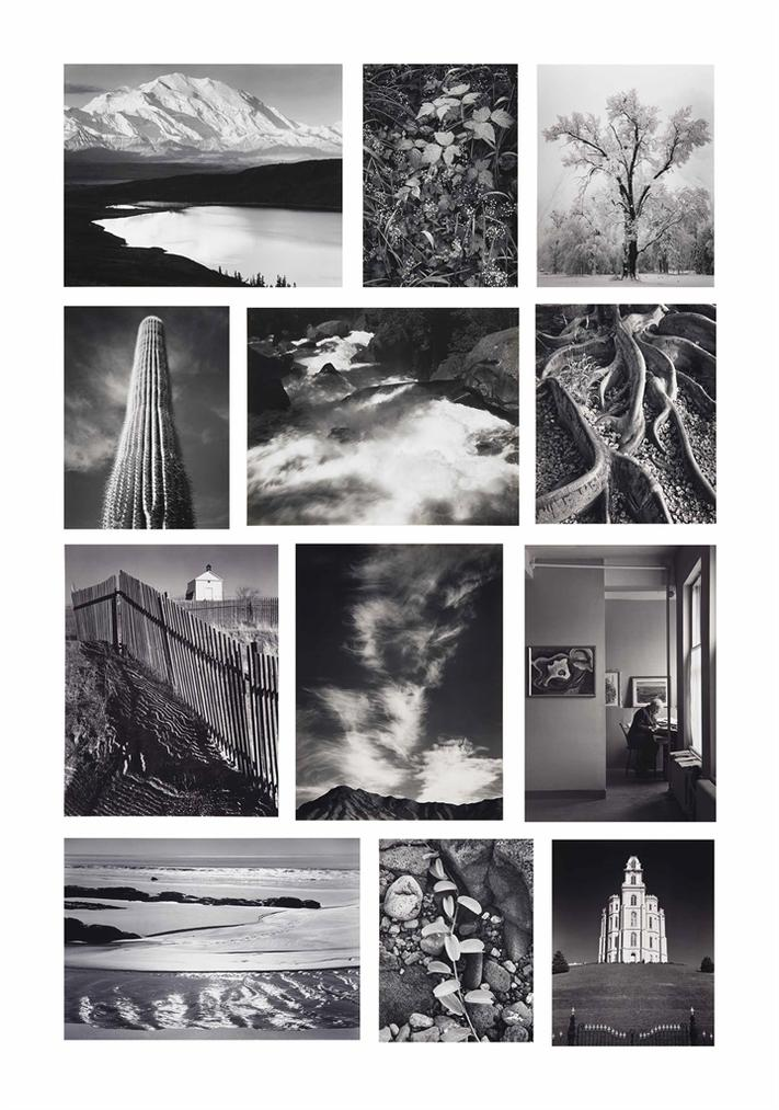 Ansel Adams-Portfolio One: Twelve Photographic Prints By Ansel Adams-1948