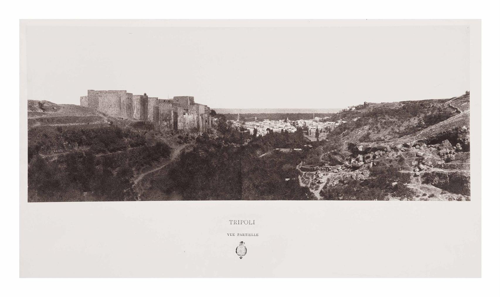 Louis De Clercq-Tripoli [Lebanon], Vue Partiel-1860