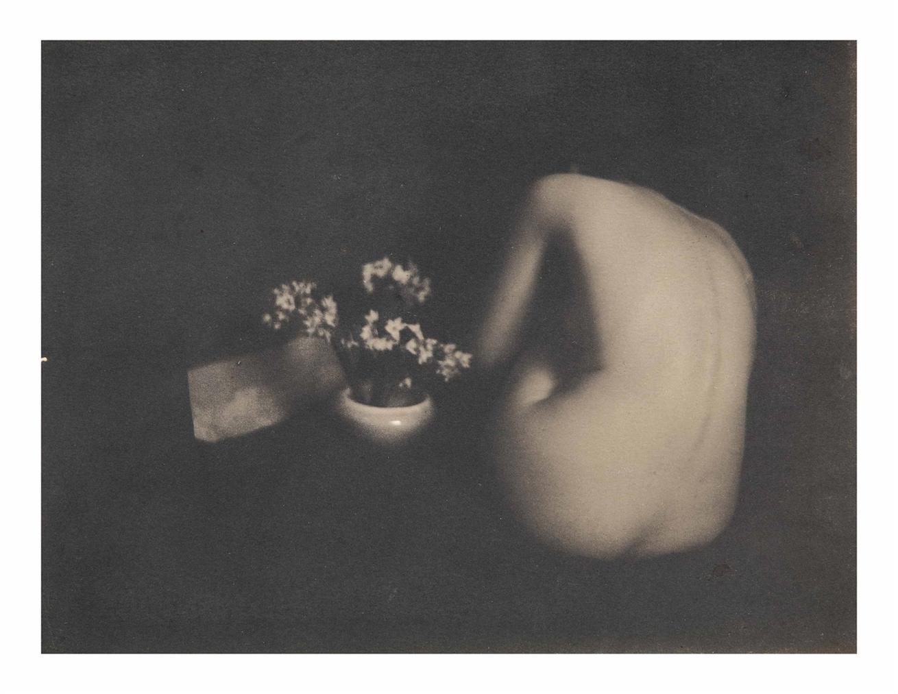Edward Steichen-Narcissus-1901