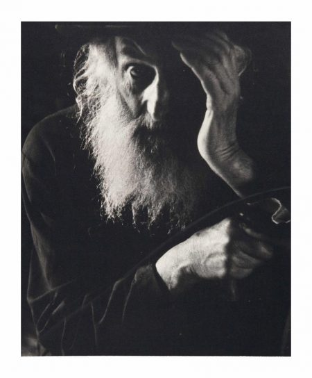 Roman Vishniac-An Elder Of The Village, Carpathian Ruthenia-1938