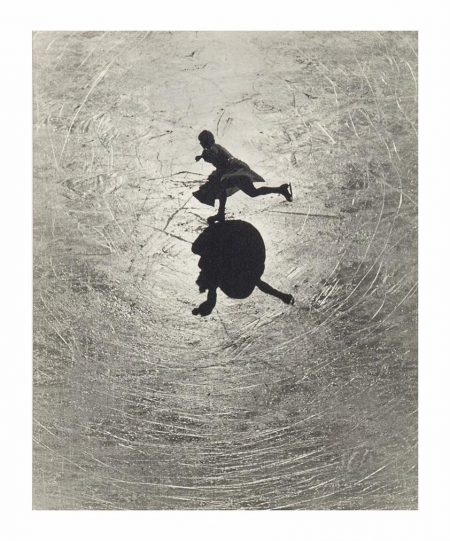 Alfred Eisenstaedt-Untitled (Sunlight Silhouetting A Skating Figure)-1930