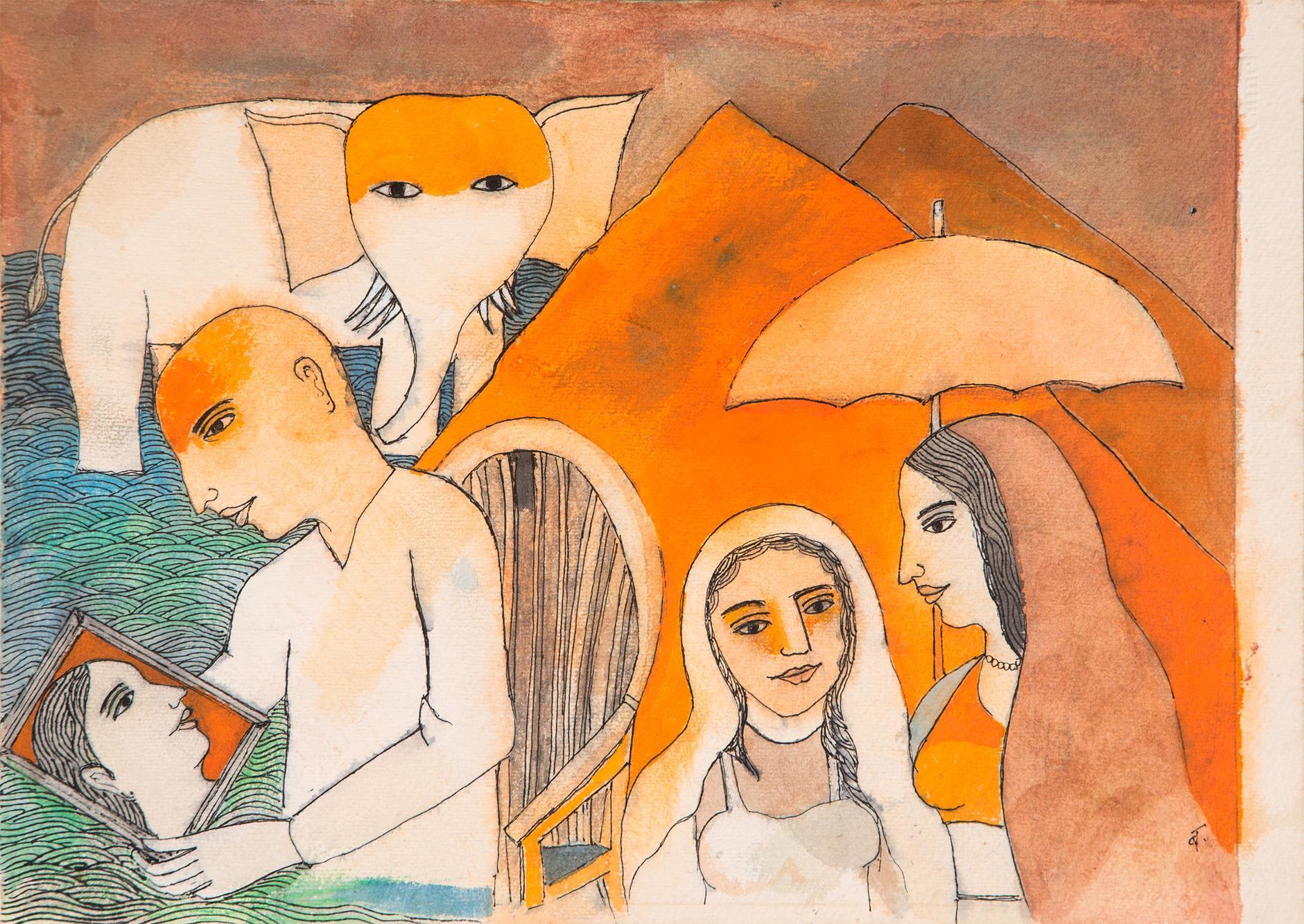 Badri Narayan-The Chhadanta And The Queens Portrait-2001