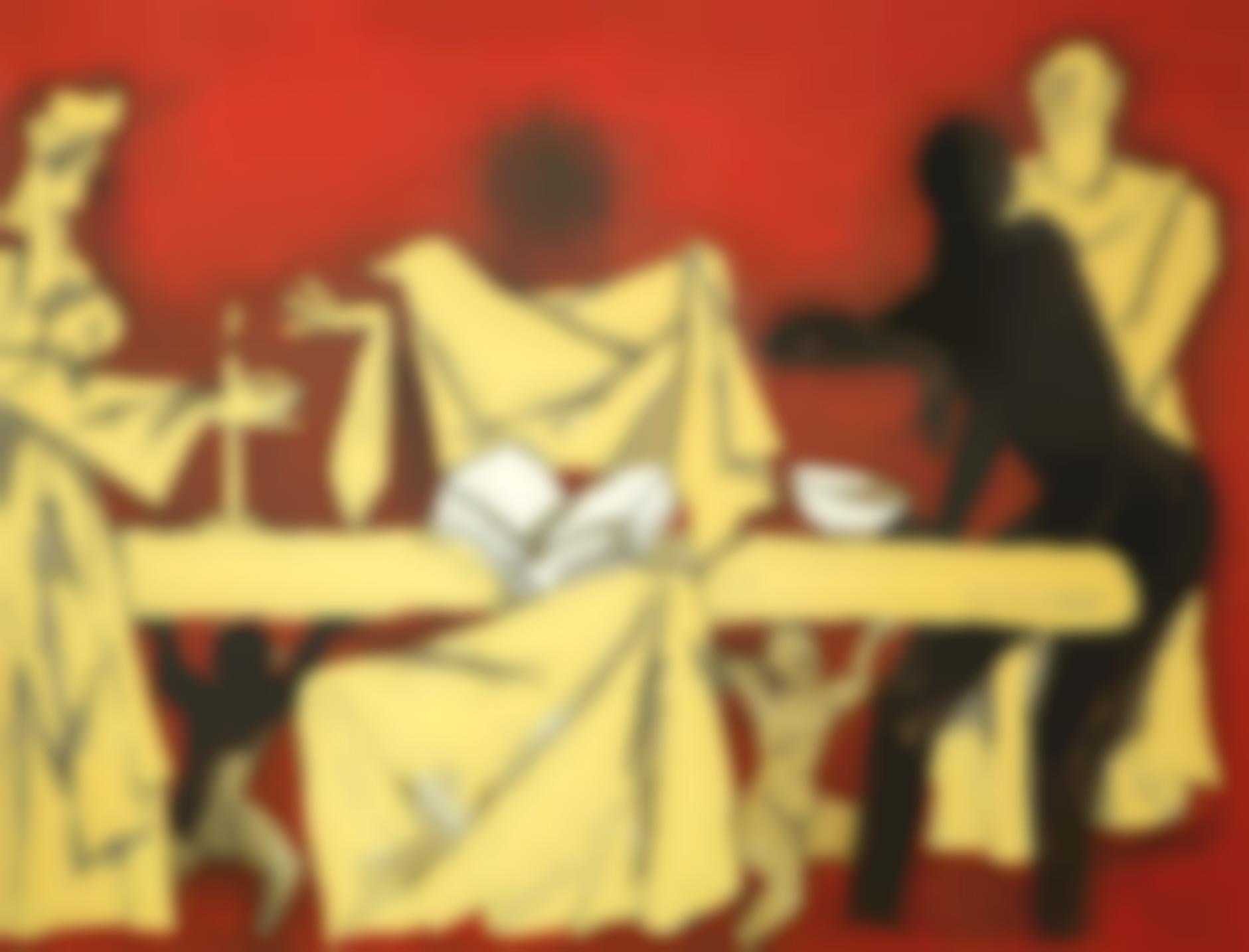 Maqbool Fida Husain-The Last Supper-2005