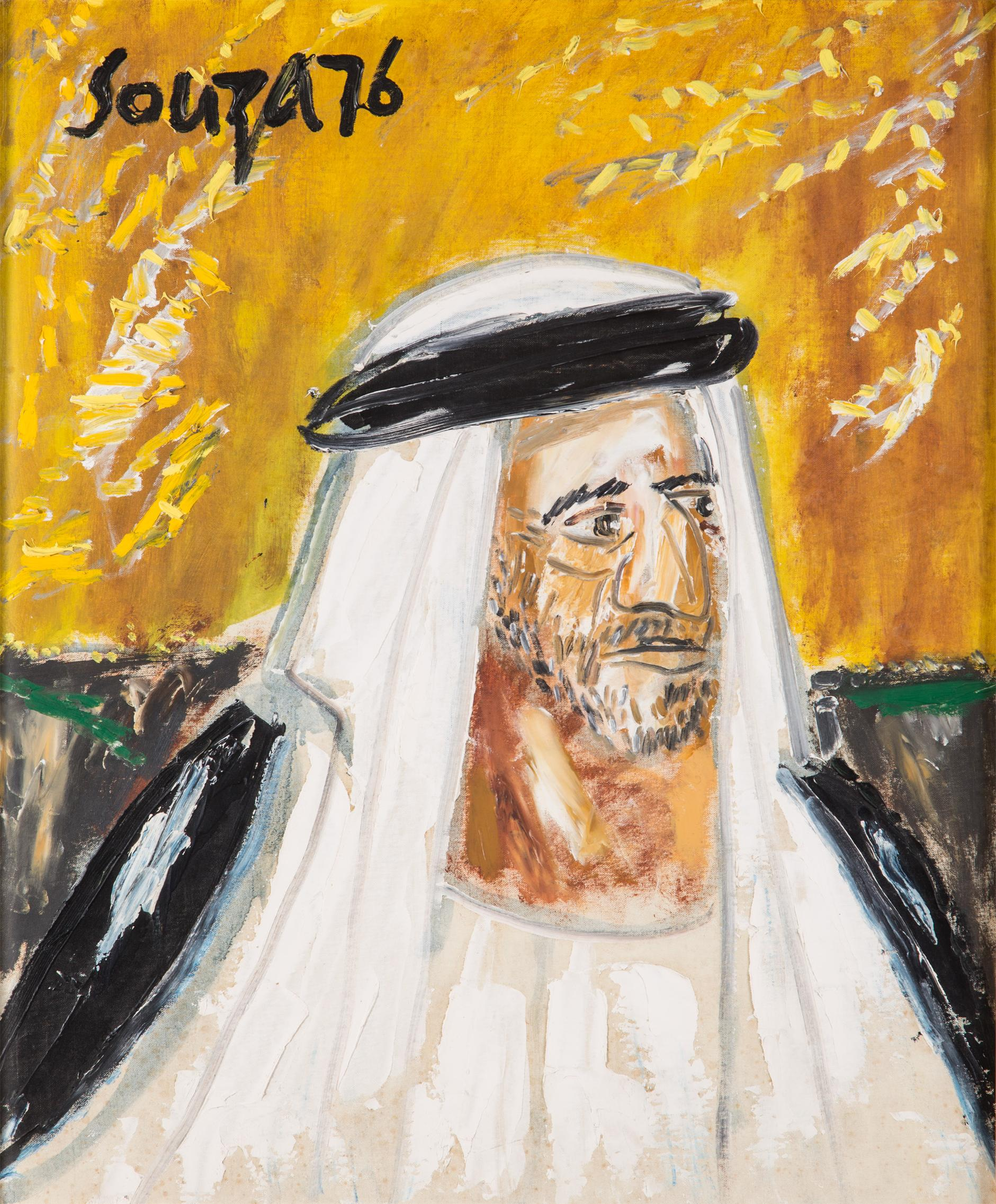 Francis Newton Souza-The Emir Of Dubai-1976