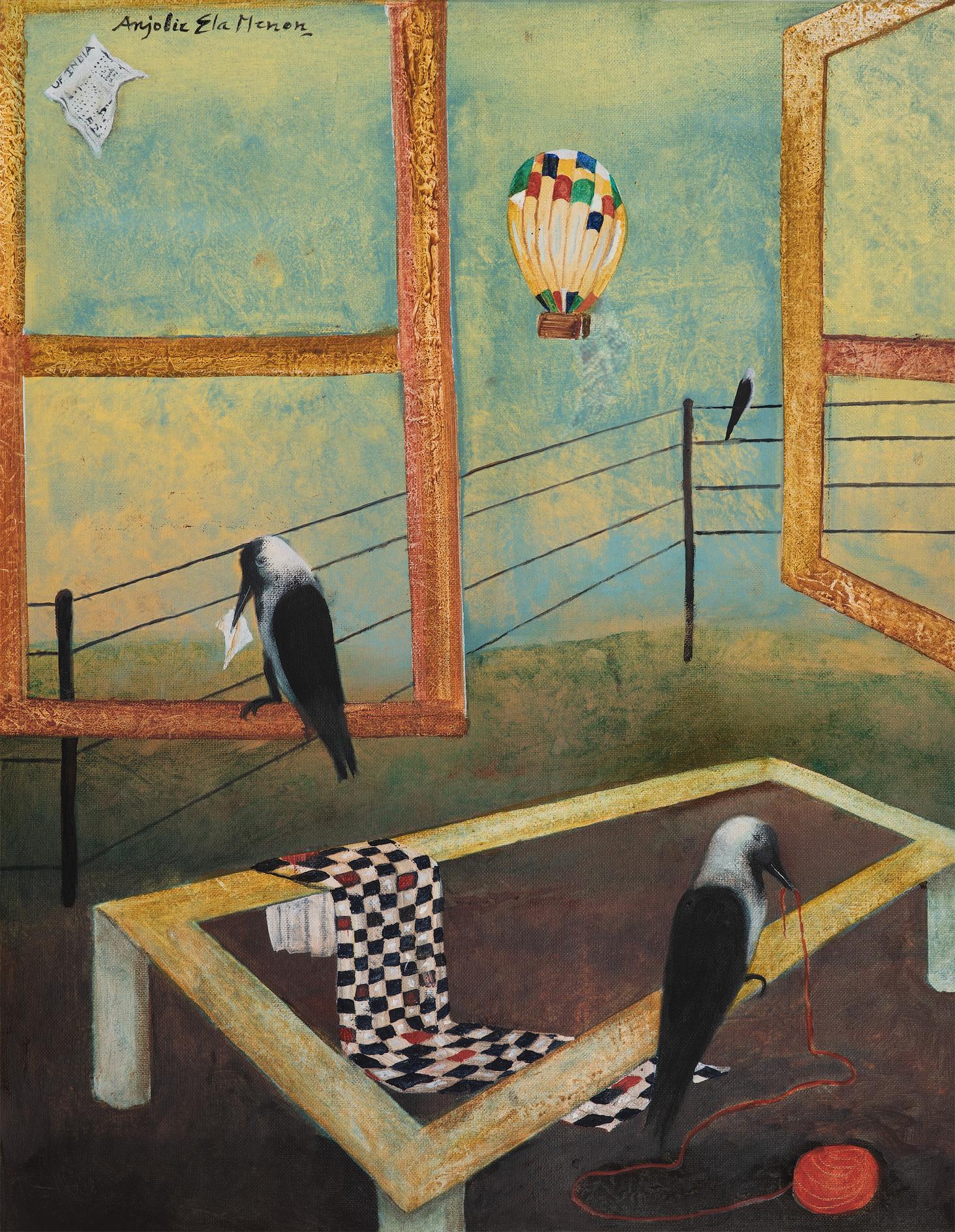 Anjolie Ela Menon-Landscape-2013