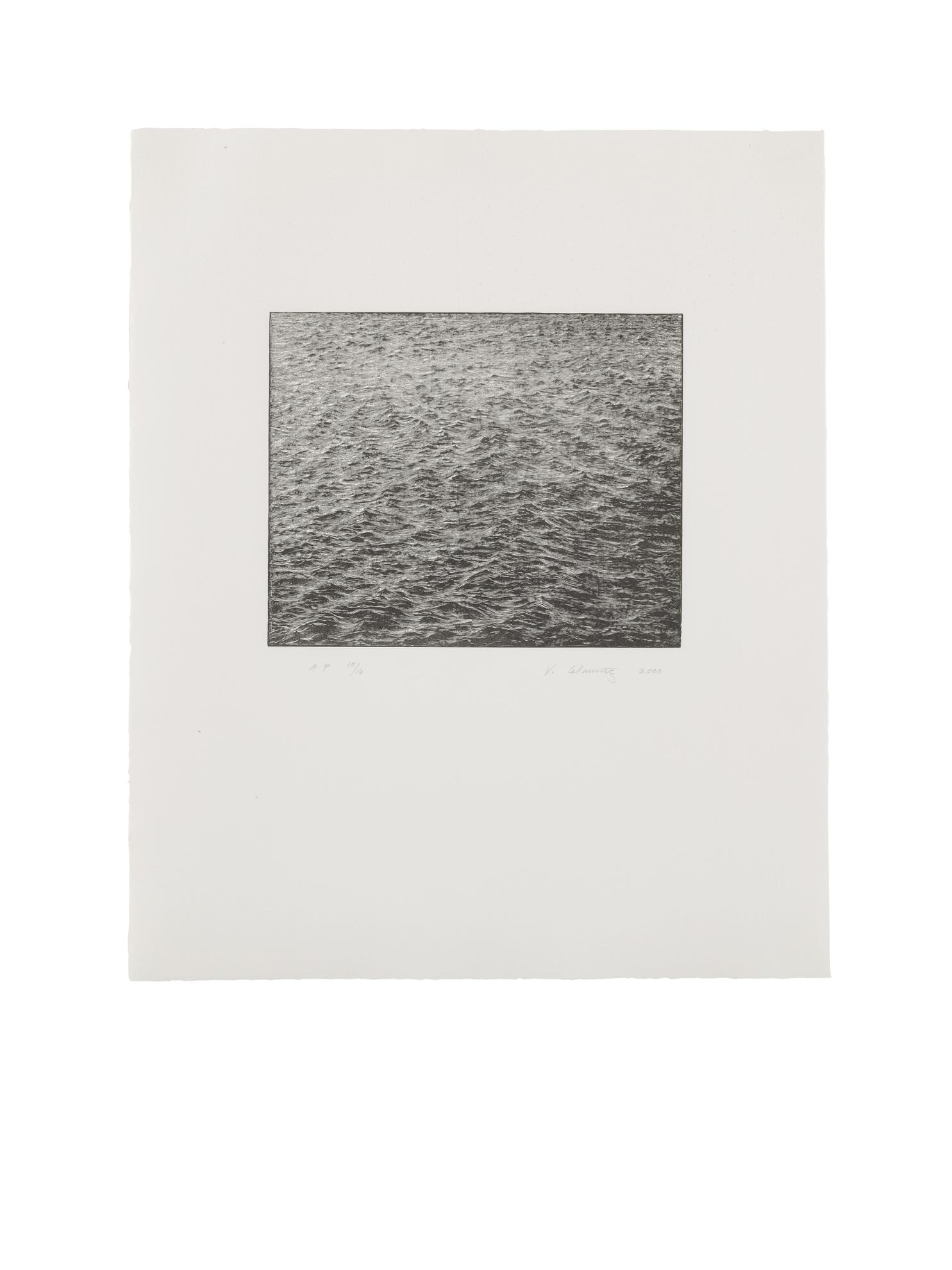 Vija Celmins-Ocean Surface-2000