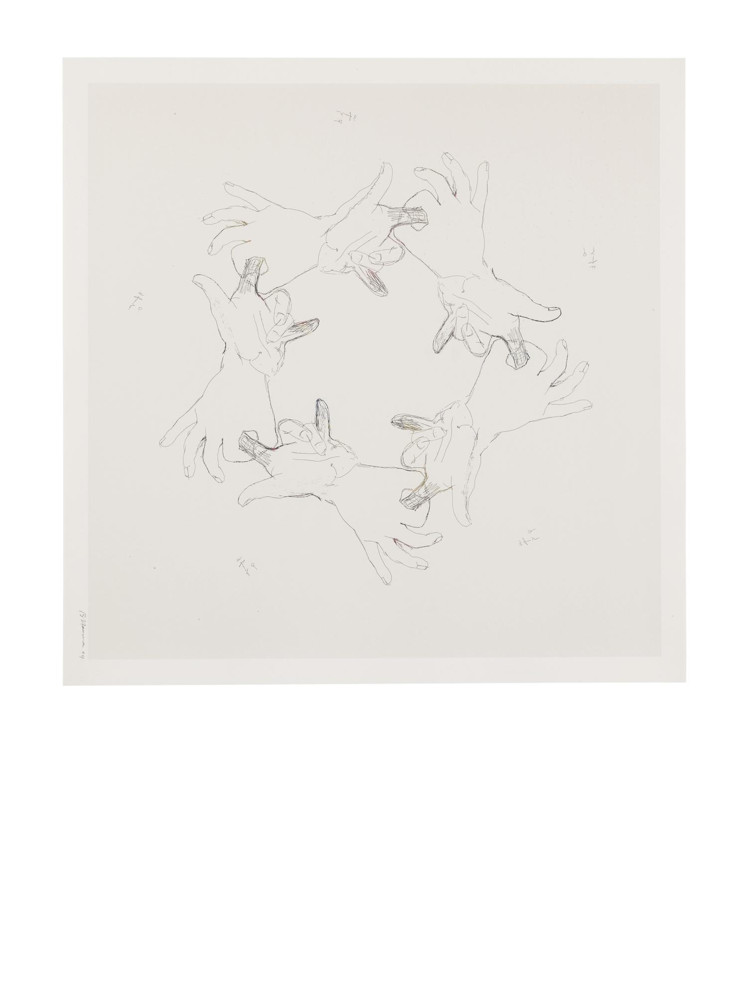 Bruce Nauman-Untitled (Gemini 36.36-43)-1994