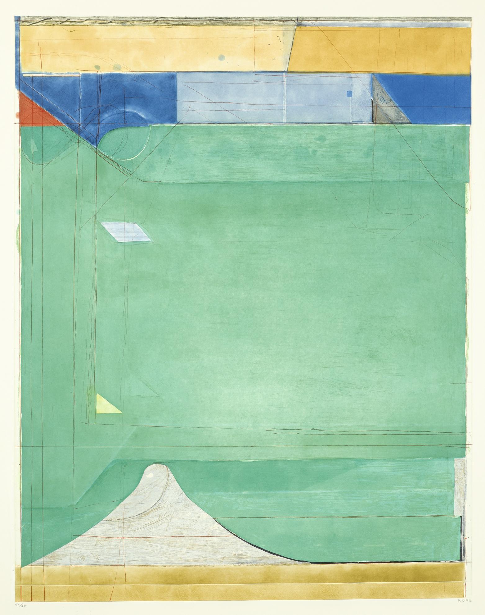 Richard Diebenkorn-Green-1986