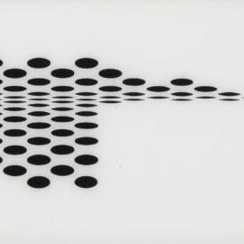 Bridget Riley-Untitled (Fragment 7) (S. 5G)-1965