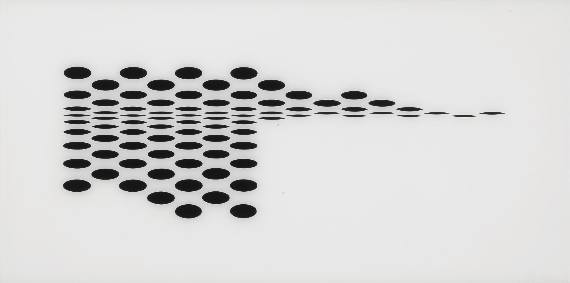 Bridget Riley-Untitled (Fragment 7) (S. 5G)-1965