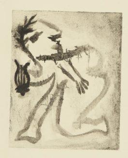 Pablo Picasso-Orphee, Ou Le Poete. II (Ba. 541)-1933