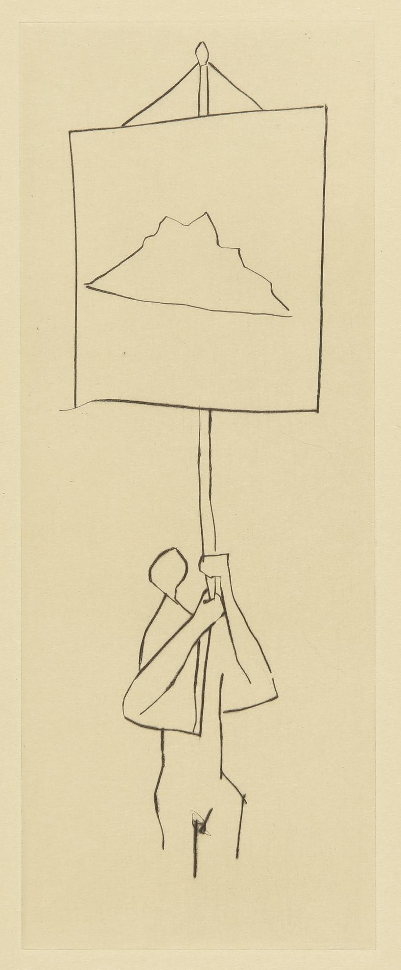 Pablo Picasso-Le Frere Mendiant: Guinee. Le Mont Dor (B. 883; Ba. 1010)-1958