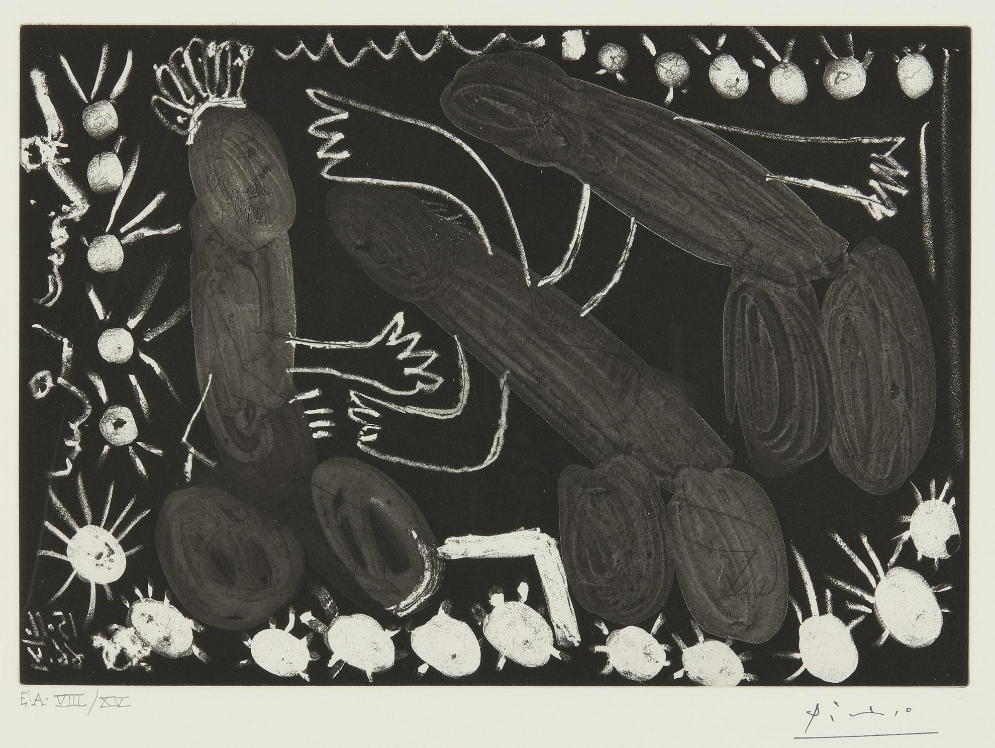 Pablo Picasso-Untitled: 15 Novembre 1966 V (B. 1417)-1966