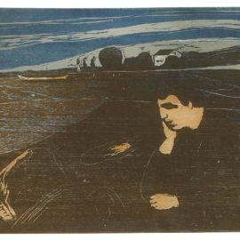 Edvard Munch-Melancholy Iii (Schiefler 144; Woll 203)-1902