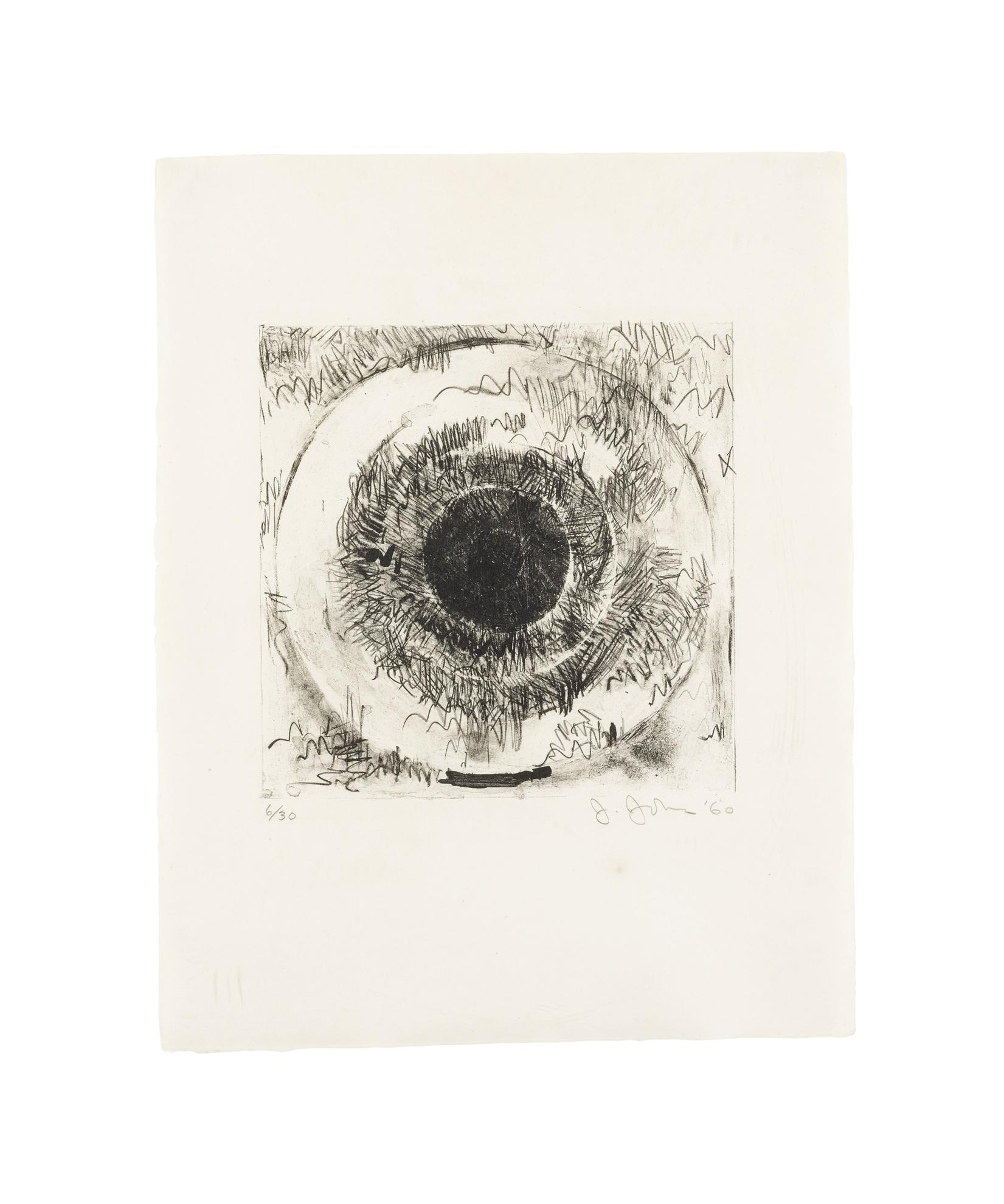 Jasper Johns-Target (Ulae 1)-1960