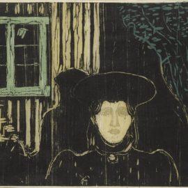Edvard Munch-Moonlight I (Sch. 81; W. 90)-1896