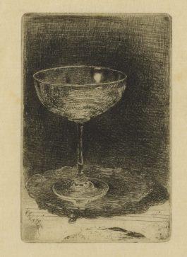 James Abbott McNeill Whistler-The Wine Glass (K. 27; G. 38)-1859