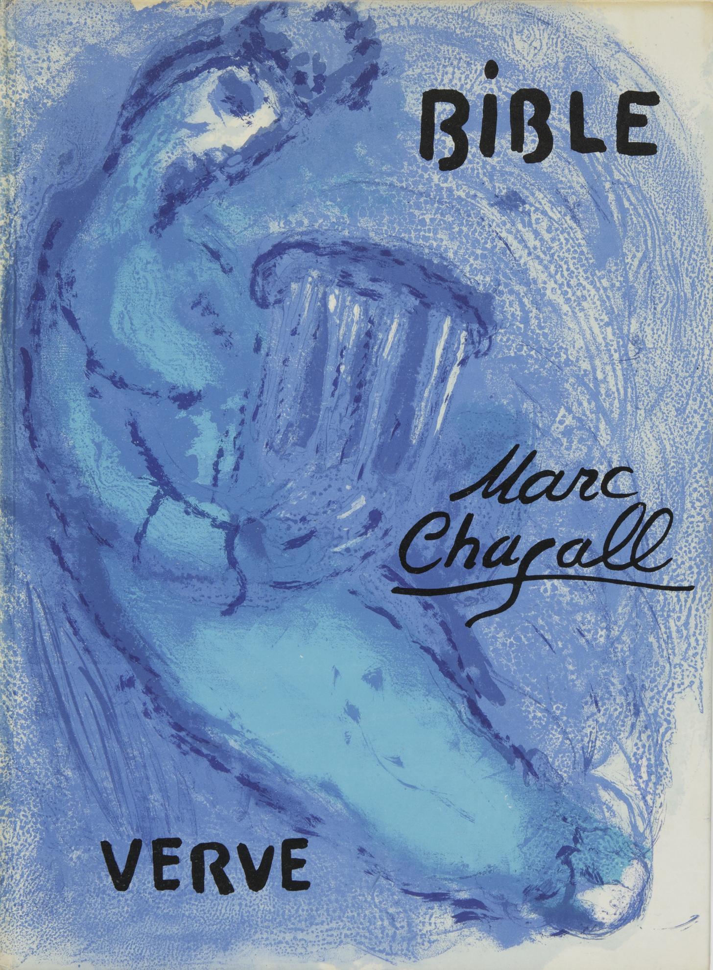 Marc Chagall-Bible: Verve. Vol. Viii, Nos 33 Et 34 (M. 117-146; C. Bks. 25)-1956