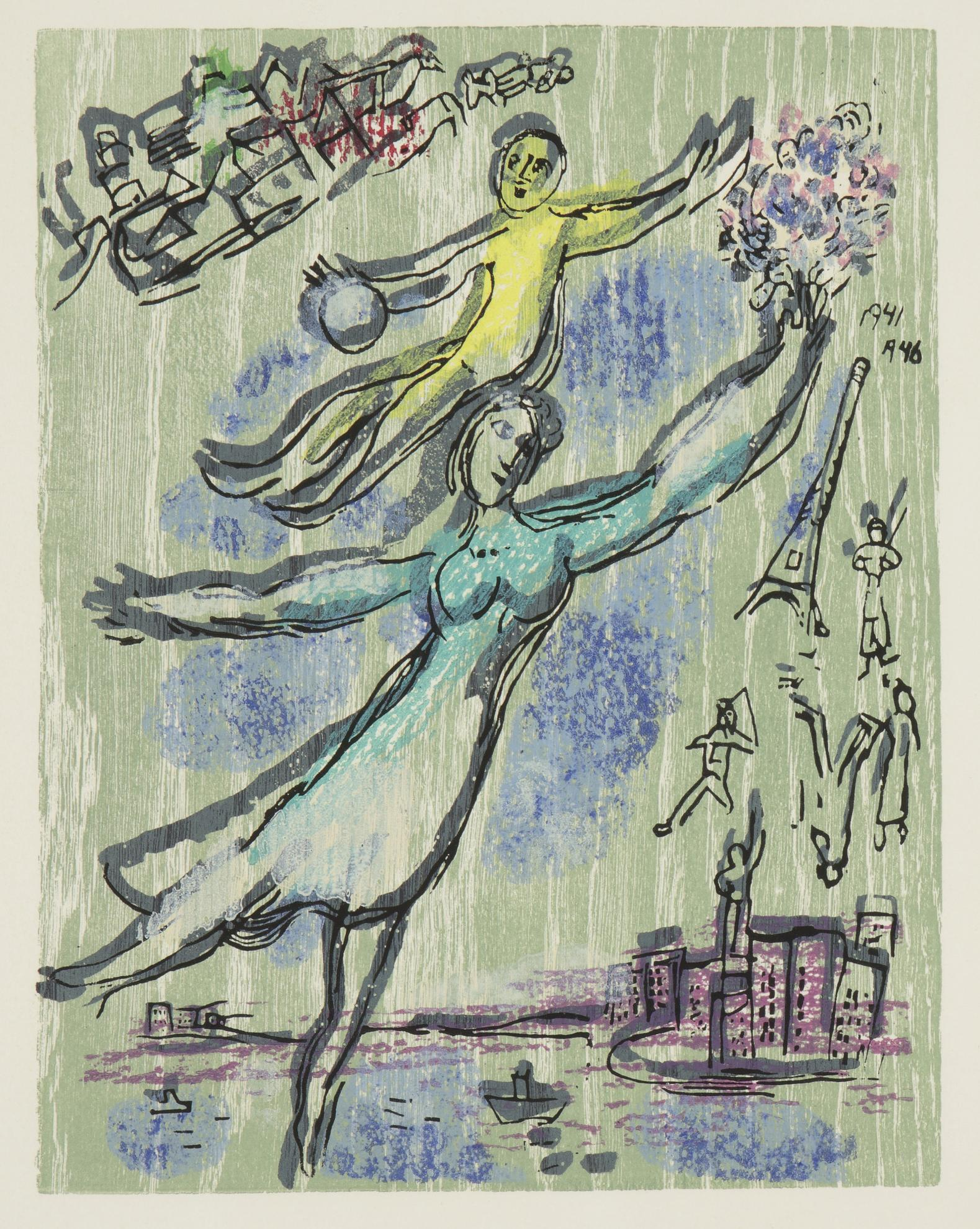 Marc Chagall-Poemes (Cramer Books 74)-1968