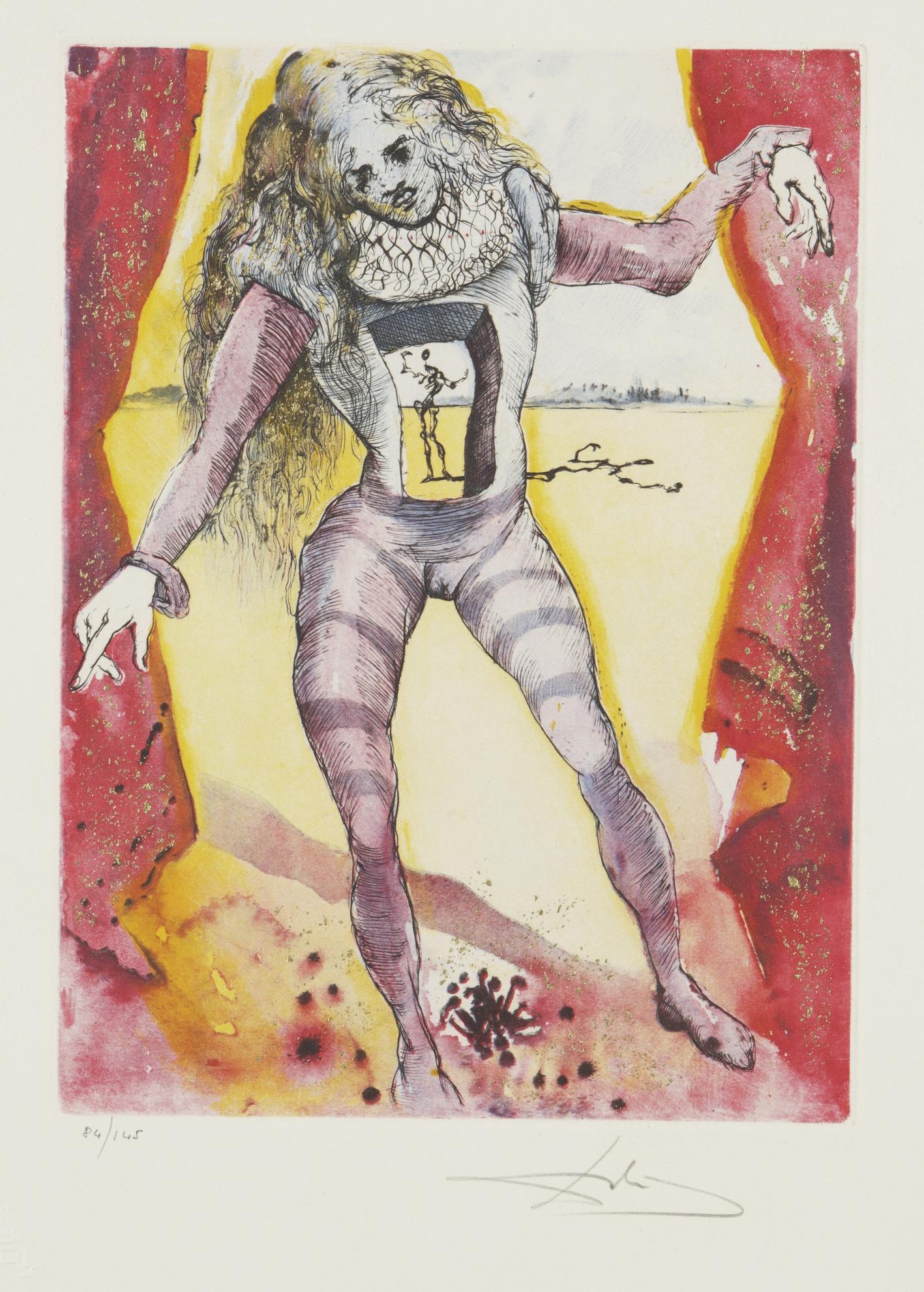 Salvador Dali-Hamlet (M. & L. 607-616; F. 73-2 A-J)-1974