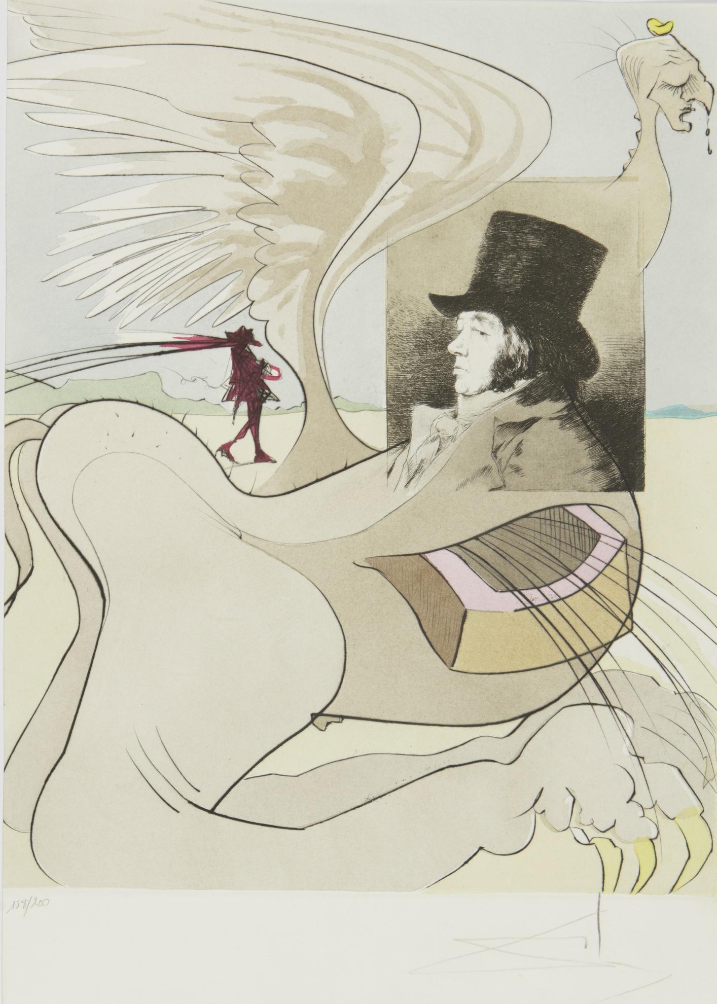 Salvador Dali-Les Caprices De Goya (M. & L. 848-927; F. 77-3)-1977
