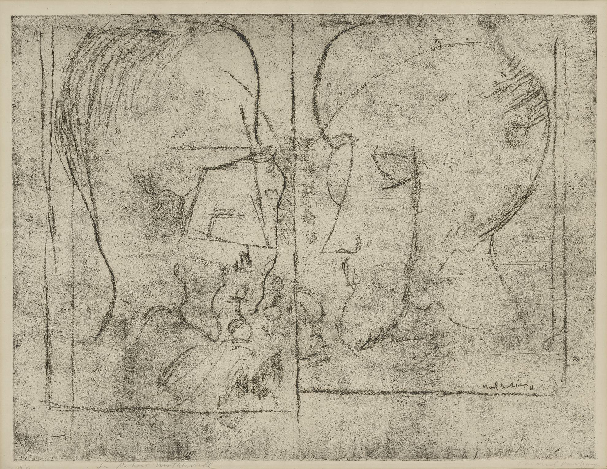 Marcel Duchamp-The Chess Players (Schwartz 621)-1965
