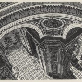 Maurits Cornelis Escher-Inside St Peters (Bool/Kist/Locher/Wierda 270)-1935