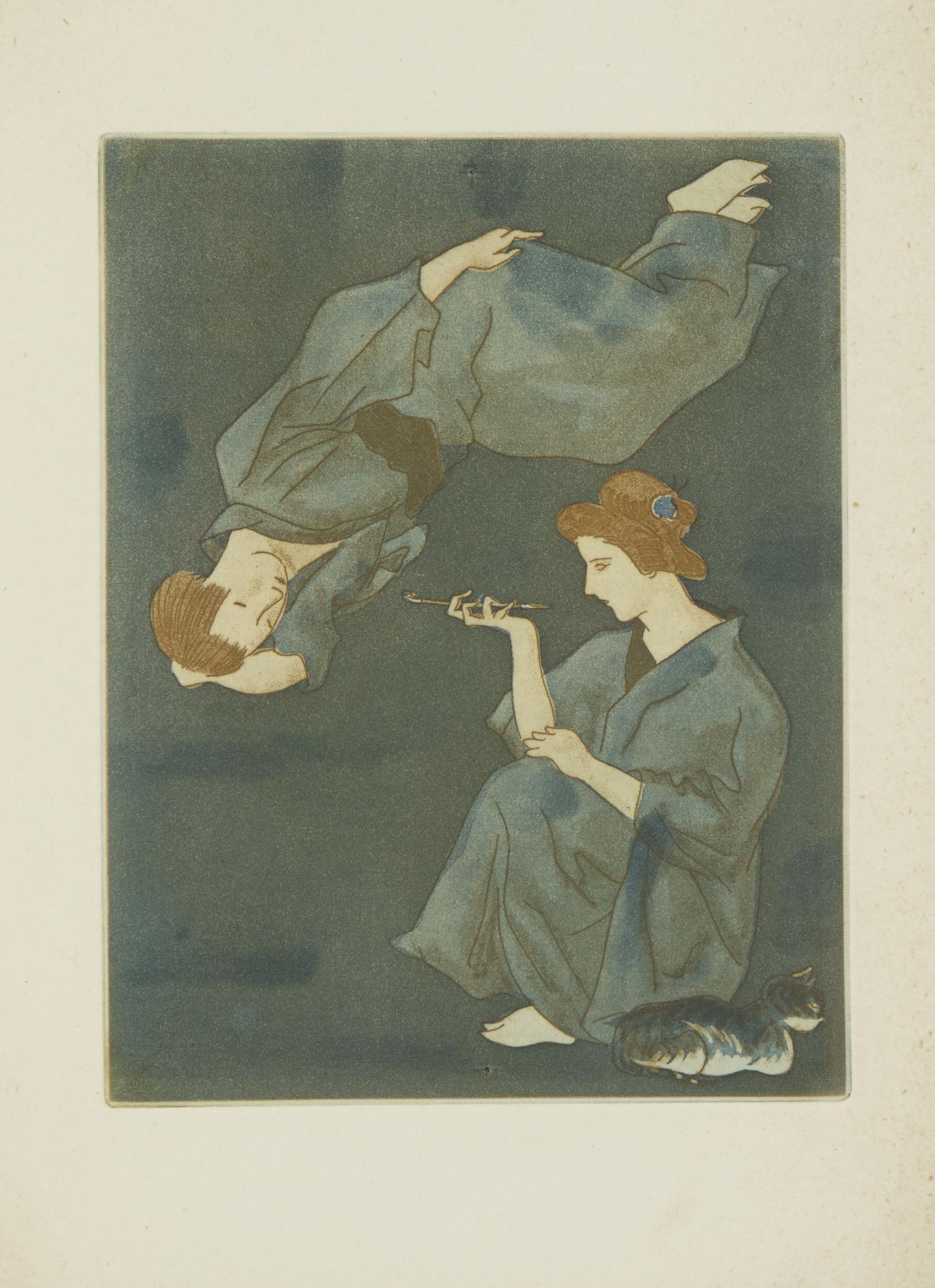 Tsuguharu Foujita-La Troisieme Jeunesse De Madame Prune-1926