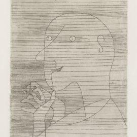 Paul Klee-Rechnender Greis (Kornfeld 104)-1929