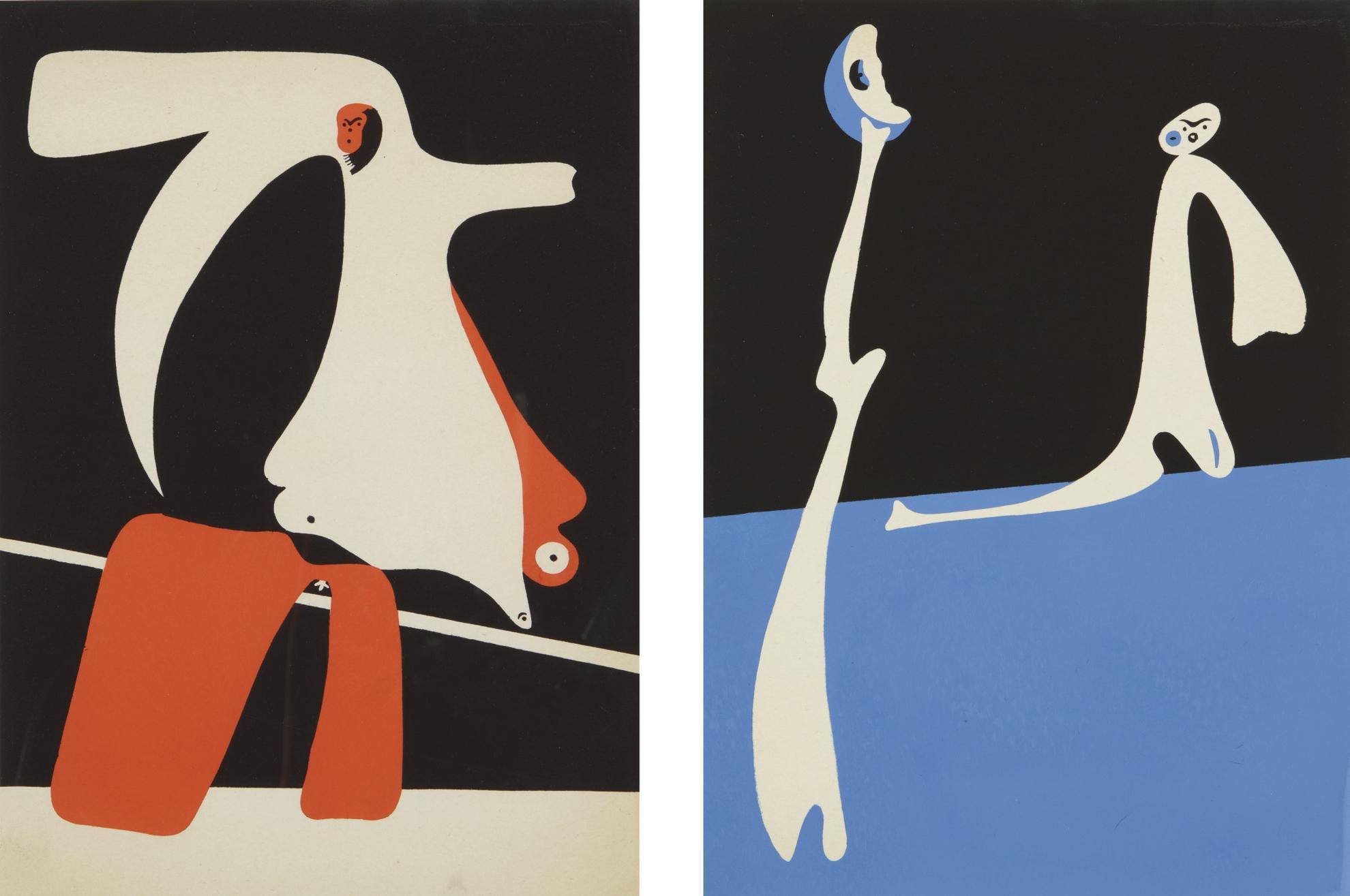 Joan Miro-Cahiers Dart (Dupin 14-15)-1934