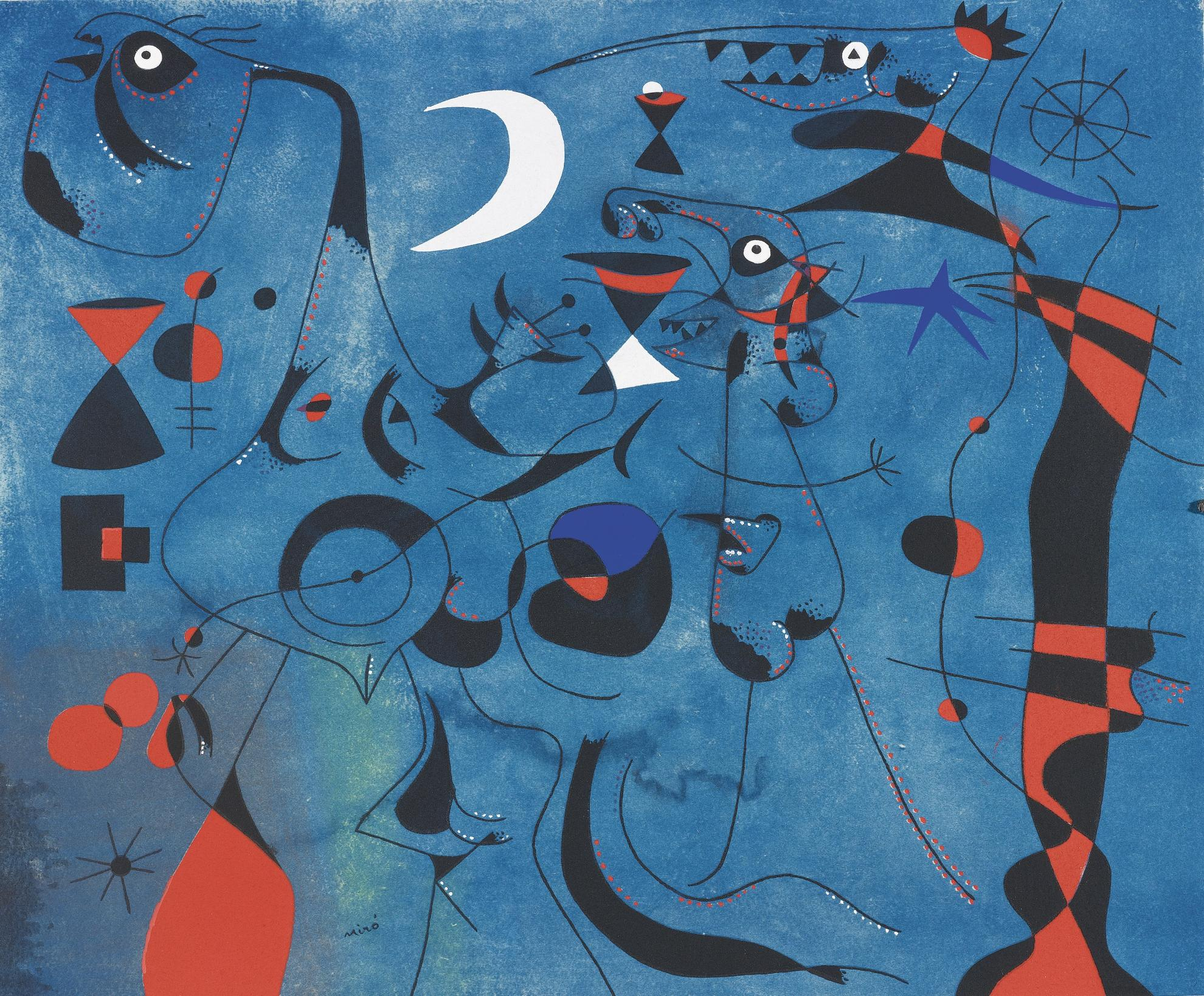 Joan Miro-Constellations (Cramer Books 58)-1959
