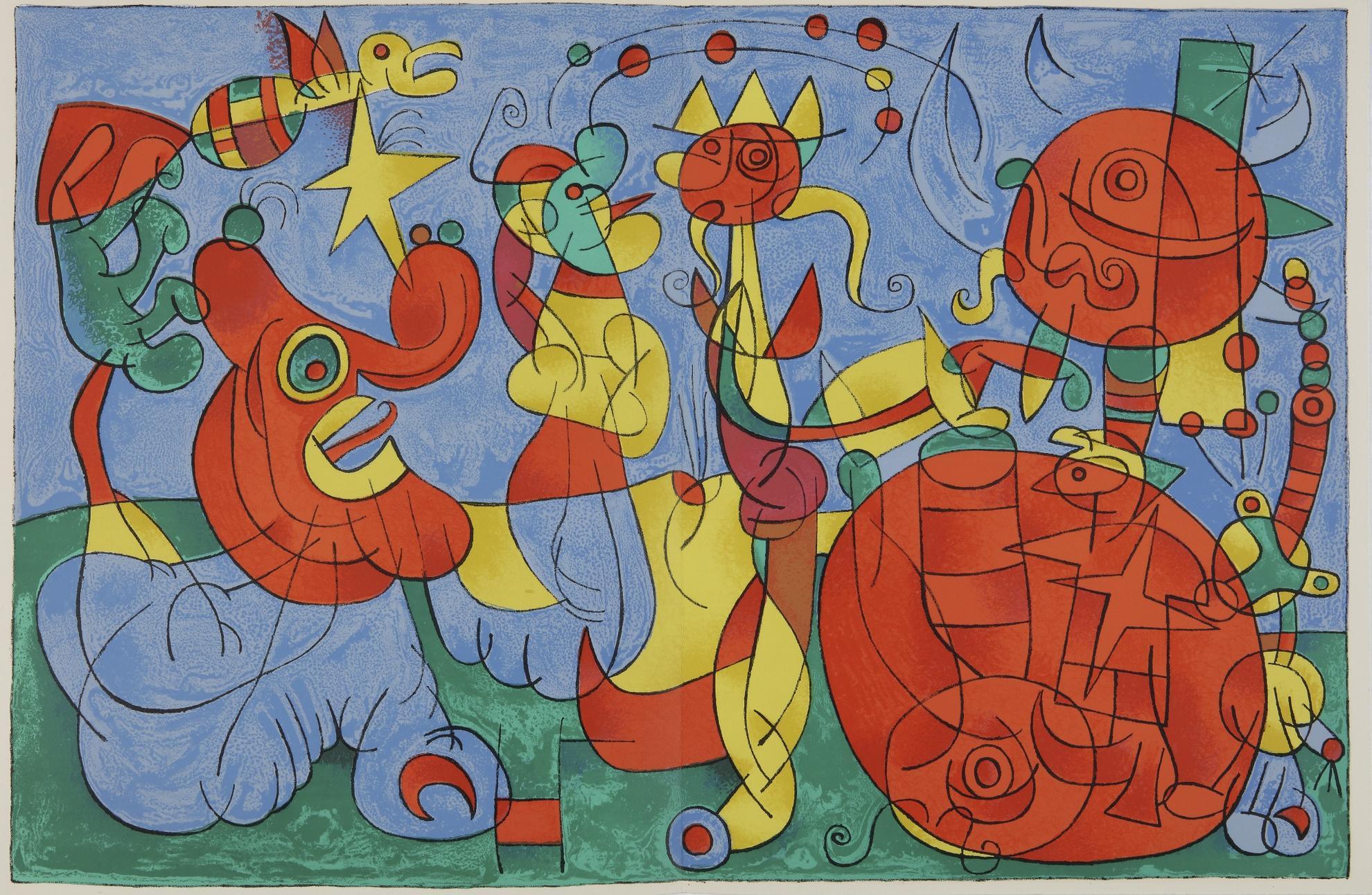 Joan Miro-Ubu Roi (Cramer Bks. 107)-1966