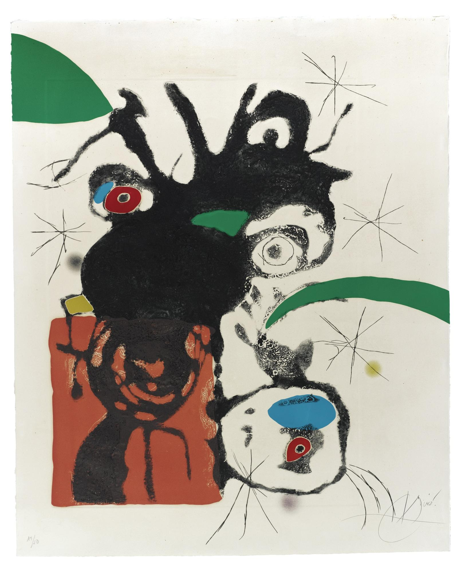 Joan Miro-Espriu - Miro (D. 873)-1975
