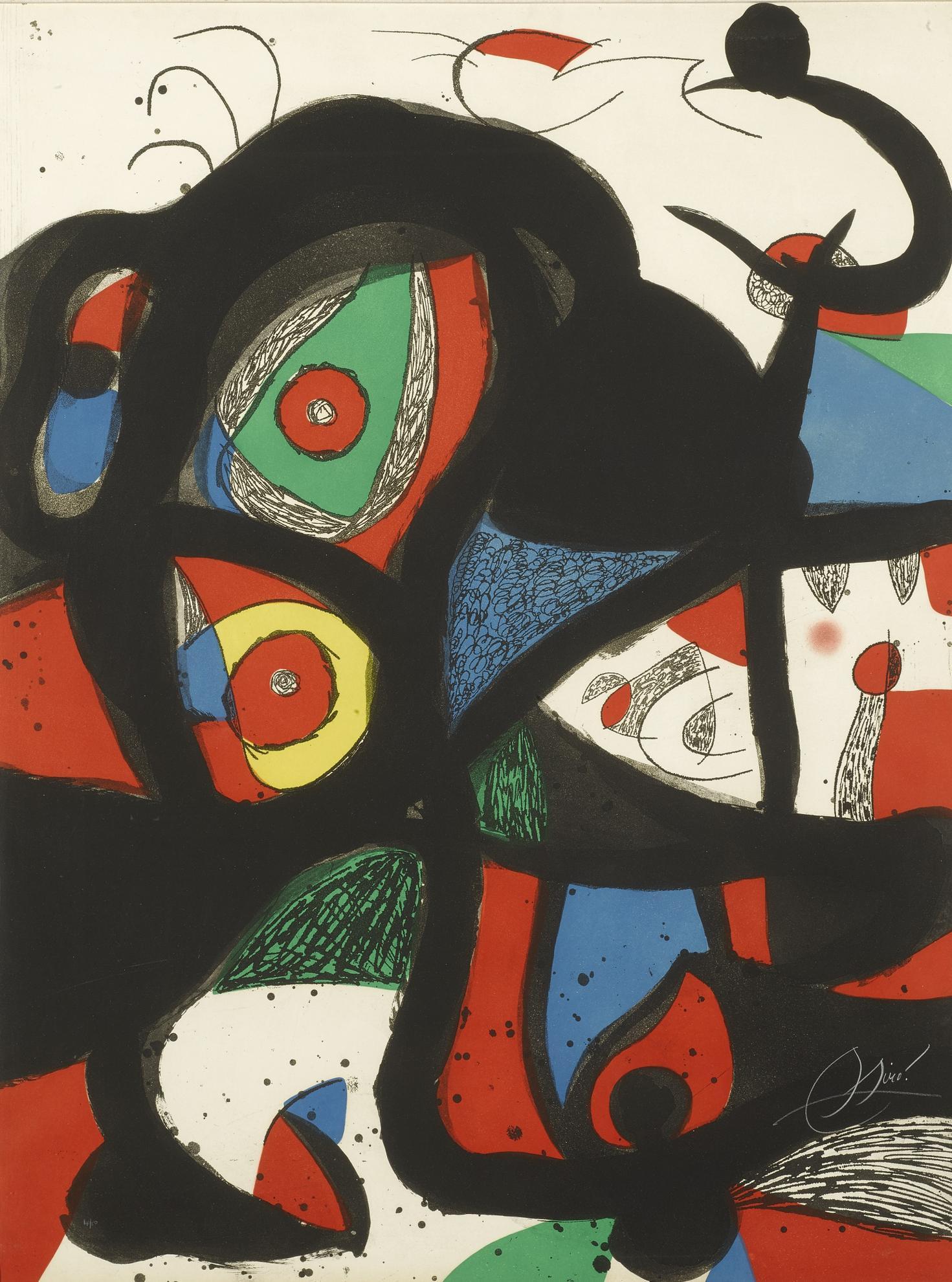 Joan Miro-Gargantua (D. 972)-1977