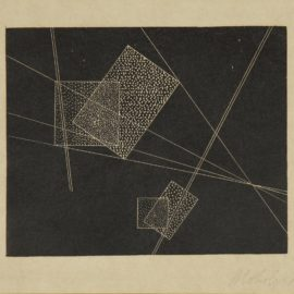 Laszlo Moholy-Nagy-Planes And Strips (Passuth 130)-1922
